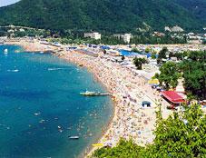 Пляж в Архипо-Осиповке