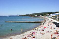 Пляж в Дивноморское
