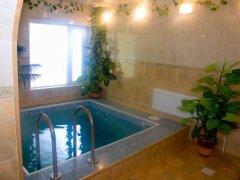 Люкс 3-х местный двухуровневый с бассейном