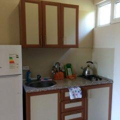 Студия с индивидуальной кухней и балконом