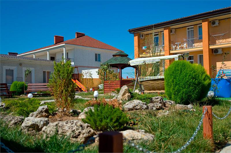 Гостевые дома Евпатории: фото, цены на отдых без