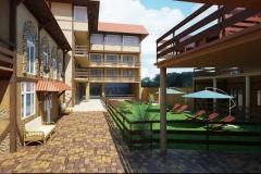 Гостиница Скала