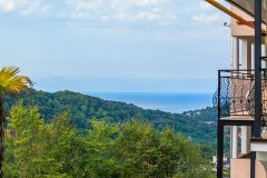 Комфорт с балконом и видом на море