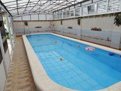 Люкс с индивидуальным бассейном и кухней